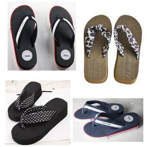 TONG Tong sandales a talon epais et souple pour femmes