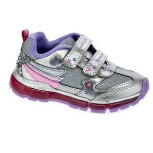 2f071a0f19c2 DERBY Baskets - Geox Android Girl Fille Argent