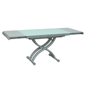 TABLE BASSE Table Basse Relevable & Extensible DS Blanc