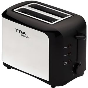GRILLE-PAIN - TOASTER TEFAL TT356110 Grille-pain - Inox et Noir