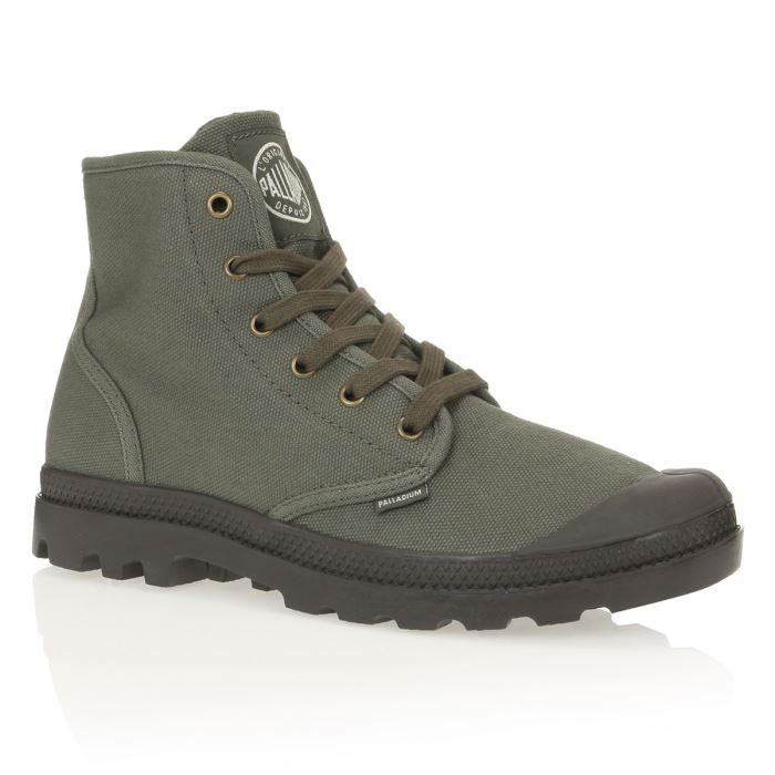 Chaussures Palladium Pampa Hi grises Casual homme 7Vs1DcSW8