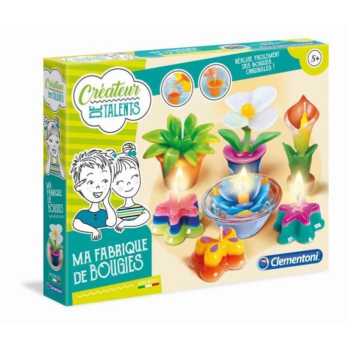 CLEMENTONI - Loisirs Créatifs Enfant - Ma Fabrique à Bougies