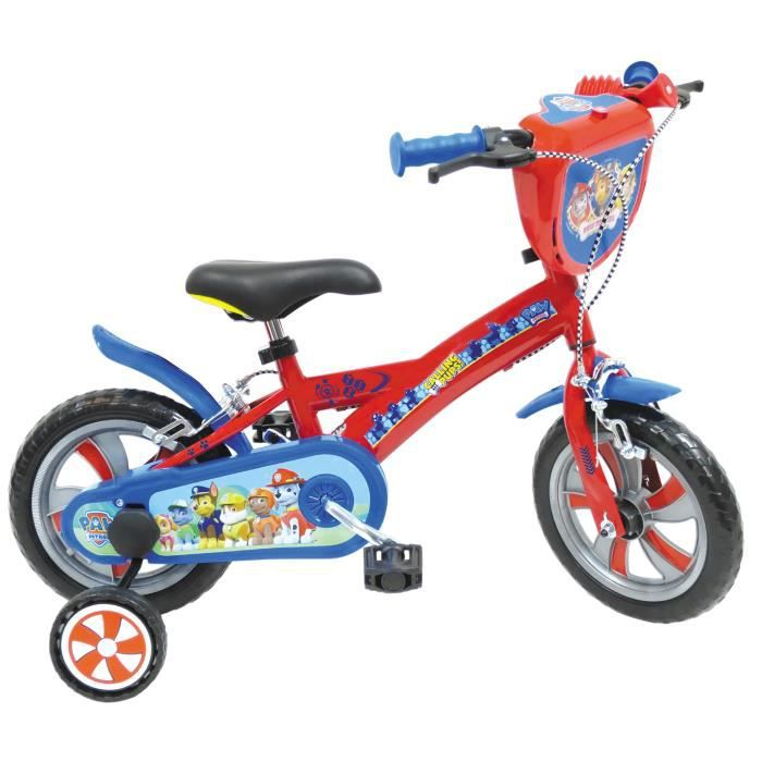 PAT'PATROUILLE Vélo Enfant 10 Pouces (2 à 3 ans)