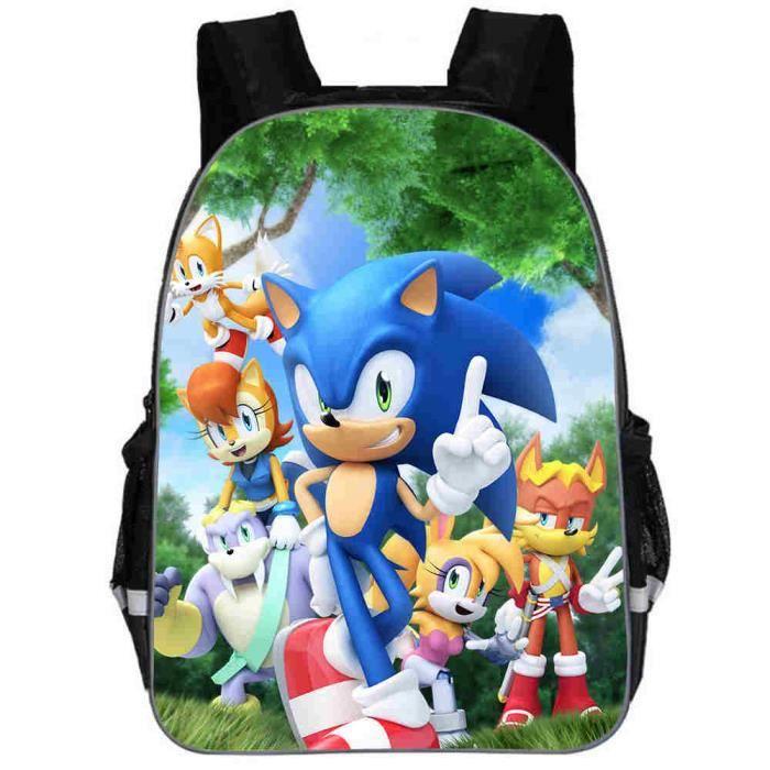 taille 40 47f9a 1d6b4 Sac à dos Enfants Sonic 16