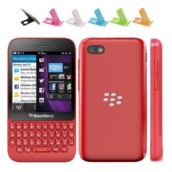 SMARTPHONE Pour BlackBerry Q5 Occasion Débloqué Smartphone (R