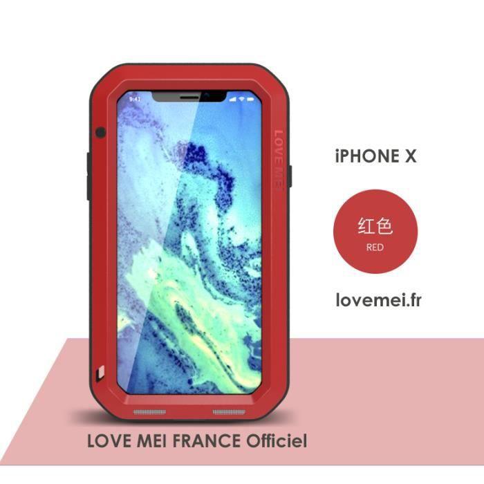 coque iphone x blindé