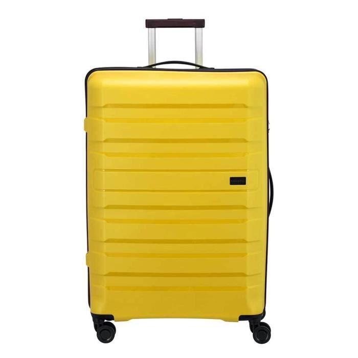 Travelite Kosmos 4 Wiel Trolley L yellow