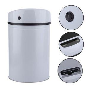 poubelle automatique salle de bain achat vente pas cher. Black Bedroom Furniture Sets. Home Design Ideas