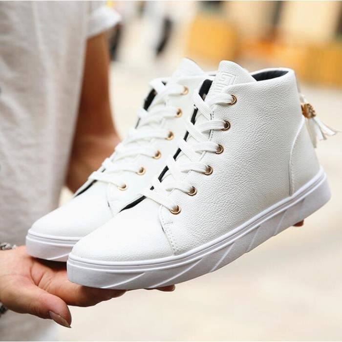 Homme Mode Shoes Chaussure Basket Homme chaussures montantes Skate Xwqp5O