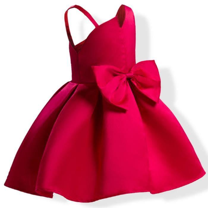 Bébés Filles RobeSans Manches Vêtements Été Pour Enfants