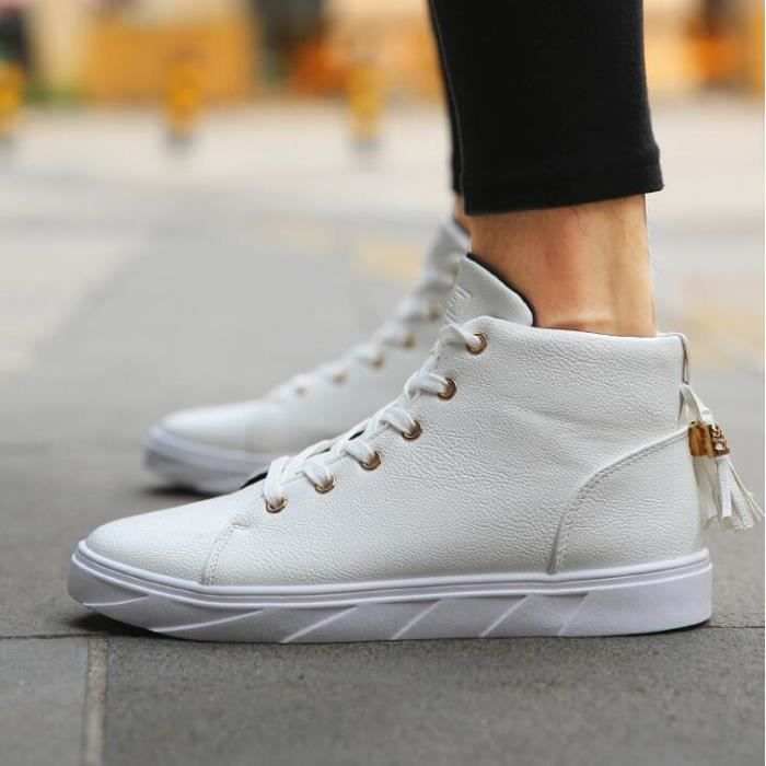 chaussures montantes Mode Chaussure Homme Basket Homme Skate Shoes iNhkZ