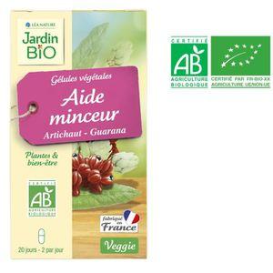4ca2540872e COMPLÉMENT MINCEUR JARDIN BIO 40 gélules végétales aide minceur artic