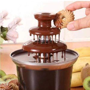 FONTAINE A CHOCOLAT Fontaine à Chocolat Électrique, Machine Fondue Cho