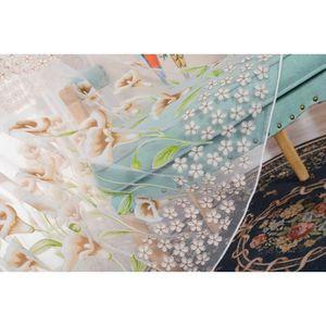 RIDEAU yumyumis® Mode fenêtre Calla rideaux couleur unie