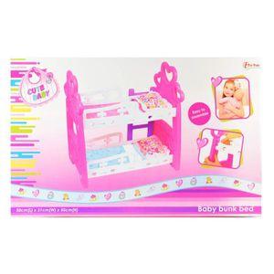 LITS SUPERPOSÉS Toi-Toys Poupée Lits Superposés Figurine, 08010A,