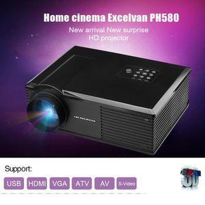 Vidéoprojecteur Excelvan PH580 Vidéoprojecteur HD Projecteur Multi