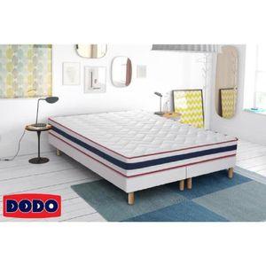 SOMMIER DODO 2 Sommiers tapissiers en bois massif 2 x 90 x