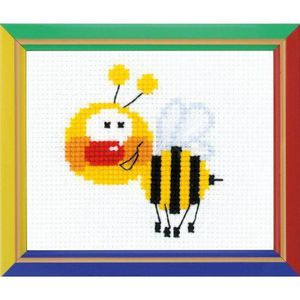 KIT OUVRAGE COUTURE Happy Bee HB-001 - KIT DE COUTURE -  Broderie Peti