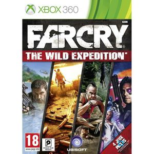 JEU XBOX 360 FAR CRY : THE WILD EXPEDITION [IMPORT ALLEMAND]…