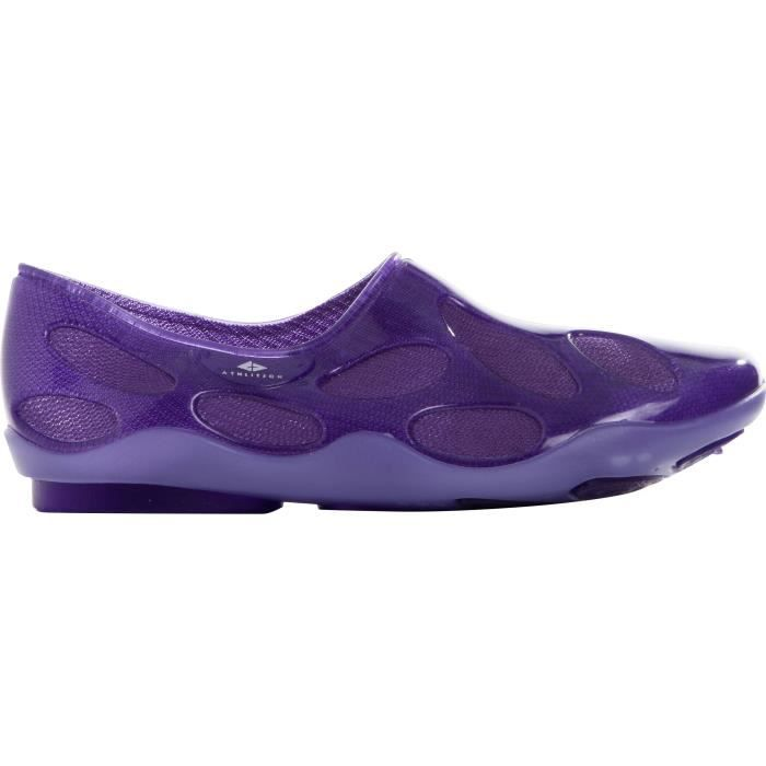 ATHLI-TECH Sandalettes de piscine Emma - Adulte - Violet