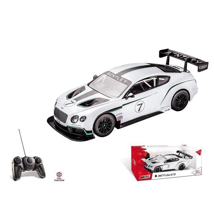 Mondo-Réplique fidèle d'une Bentley GT3à l'échelle 1/14ème. -G- à partir de 3ansVEHICULE MINIATURE ASSEMBLE - ENGIN TERRESTRE MINIATURE ASSEMBLE