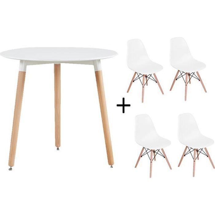 lot de 4 pieds de table bois - achat / vente pas cher