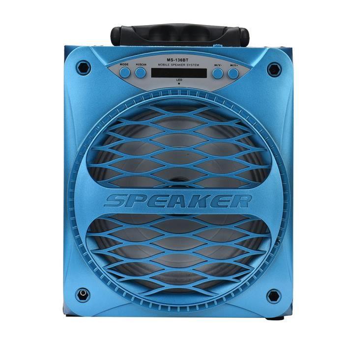Sport Bluetooth Haut-parleur Portable Sans Fil Super Bass Avec Usb-tf-aux-radio Fm 136bt