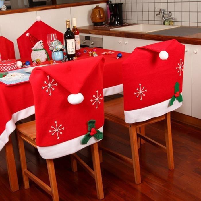 Housse De Chaise Pour Noel on