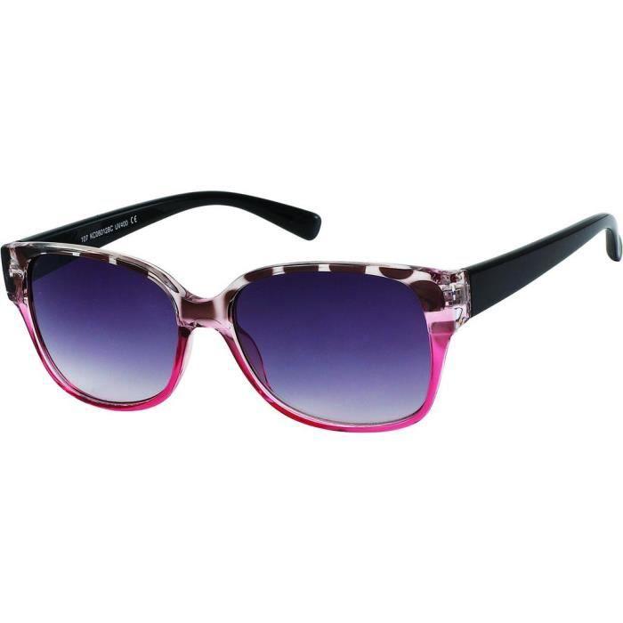 e69433e0ab1091 Lunettes cats color lunettes vintage femme 9190 monture noire tachetée et  rose