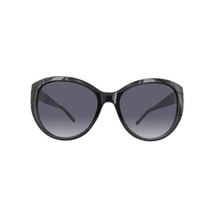 Lunettes de soleil femme GUESS GF0297 black-other - gradient smoke