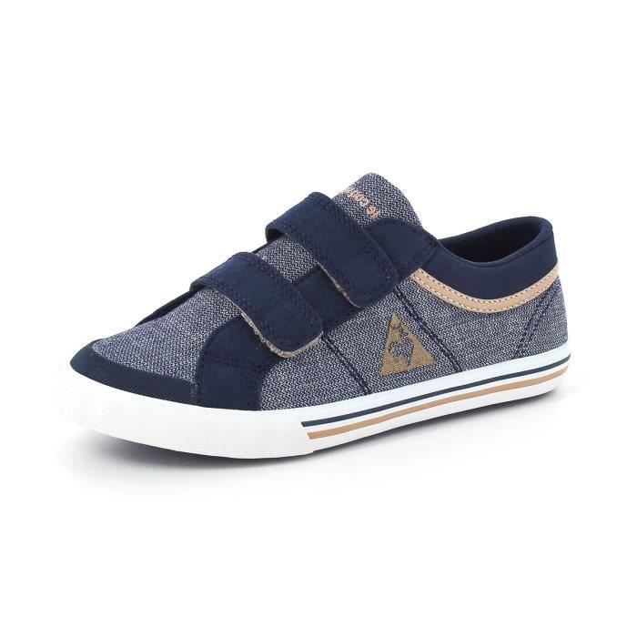 Le Coq Sportif SAINT GAETAN PS 2 Chaussures Sneakers Mode Garcon Enfant  Junior Bleu