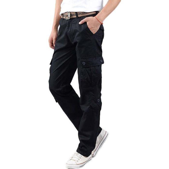 7e35897d482d5 Pantalon battle homme noir - Achat / Vente pas cher