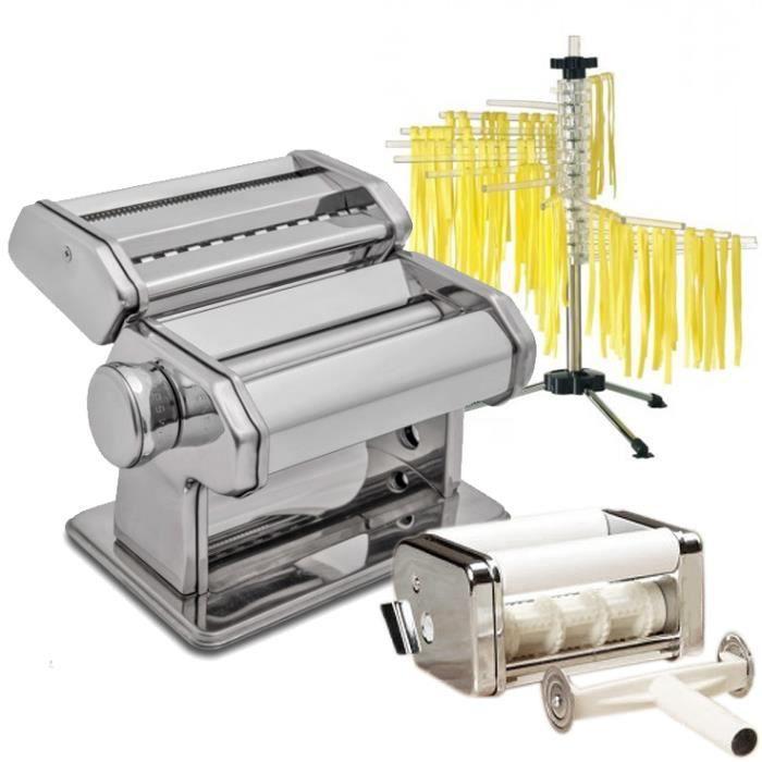 Table&cook - machine à pâtes manuel + séchoir + accessoire ravioli ...