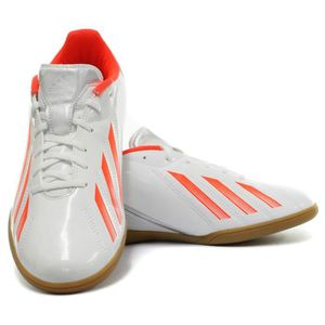 sports shoes 40624 12400 ... CHAUSSURES DE FOOTBALL Adidas F5 IN Chaussures de football homme blanc  ...