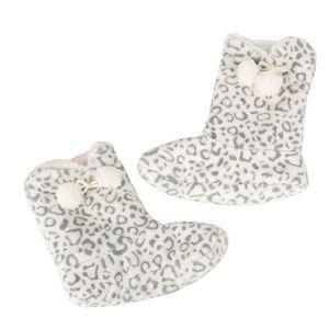 Sidneyki®Femmes dames coton chaud pantoufles d'intérieur doux en peluche de noël chaussures F WE690 yJ5gi