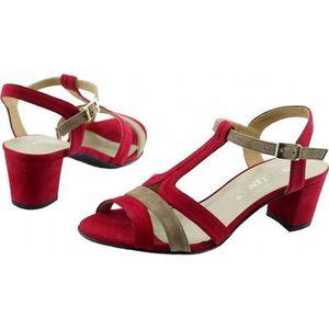Sandales de femme Tous Matched Ornement Imitation Perle carrée Chaussures à talon 6935200 PBvgxfA