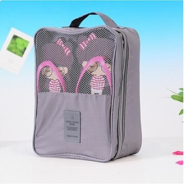 Cube Pouch Portable Bag Emballage l Organizer Voyager Shoe qxEwZYPn8