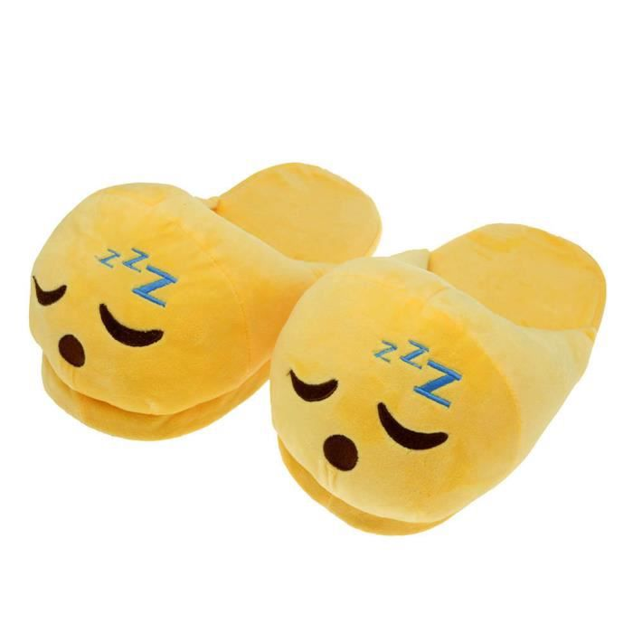 Drôle Unisexe peluche douce Chaussons Cozy Anti-dérapant Chaussures Accueil Indoor hiver chaud NrVB6kW6