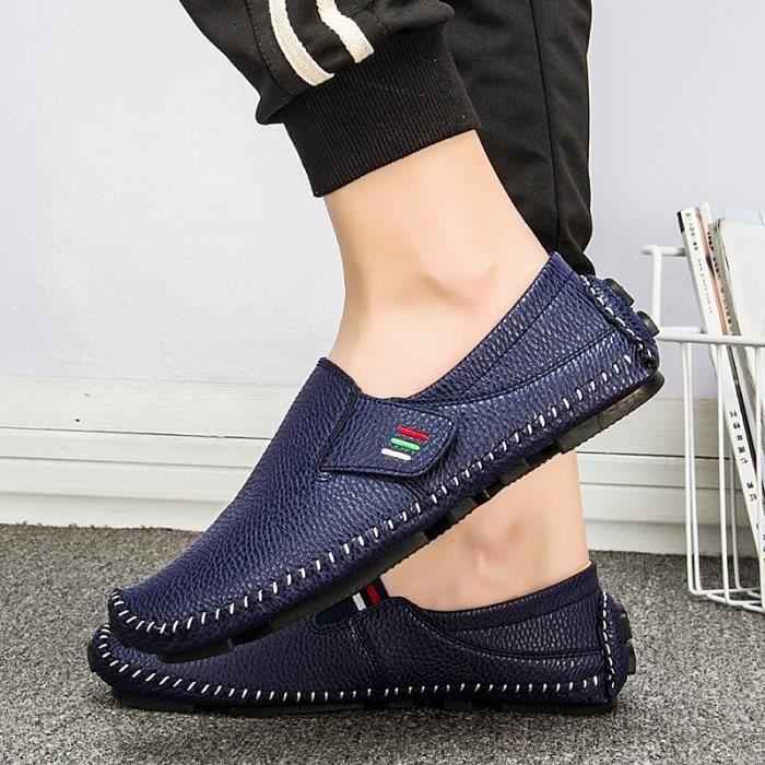 d'homme simple Design Chaussures sport plates chaussures Mocassins simples de Driving confortables 6zqwvqF