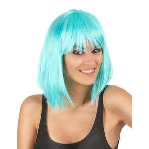 Perruque bleue femme - Achat / Vente pas