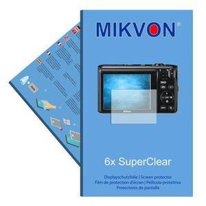 FILM PROTECTION PHOTO 6x Mikvon SuperClear Film de protection d'écran po