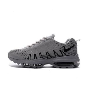 Basket Homme Flyknit Nike Air Max 95 Ultra Chaussures De Course Gris