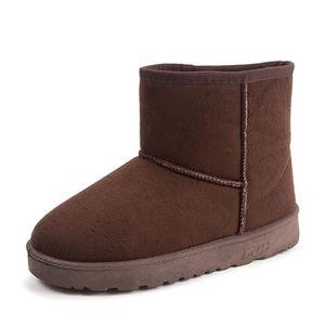 BOTTE Bottes De Neige Beau Mode Hiver Chaussure Garde Au