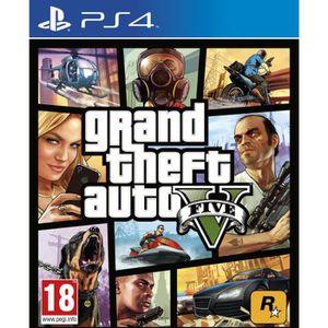 JEU PS4 Jeu PS4 ROCKSTAR GAMES GTA - 5