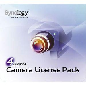 BUREAUTIQUE Synology pack 4 licences pour caméras supplément