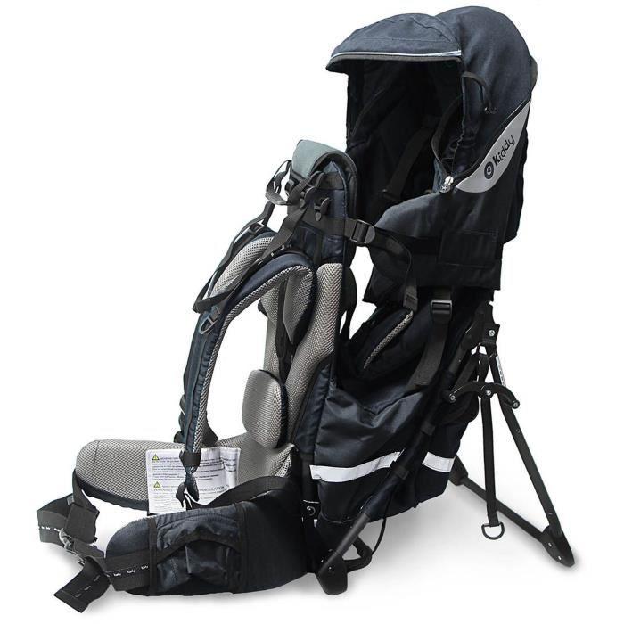 KIDDY Porte-bébé de randonnée Adventure Pack 2017 Bleu nuit