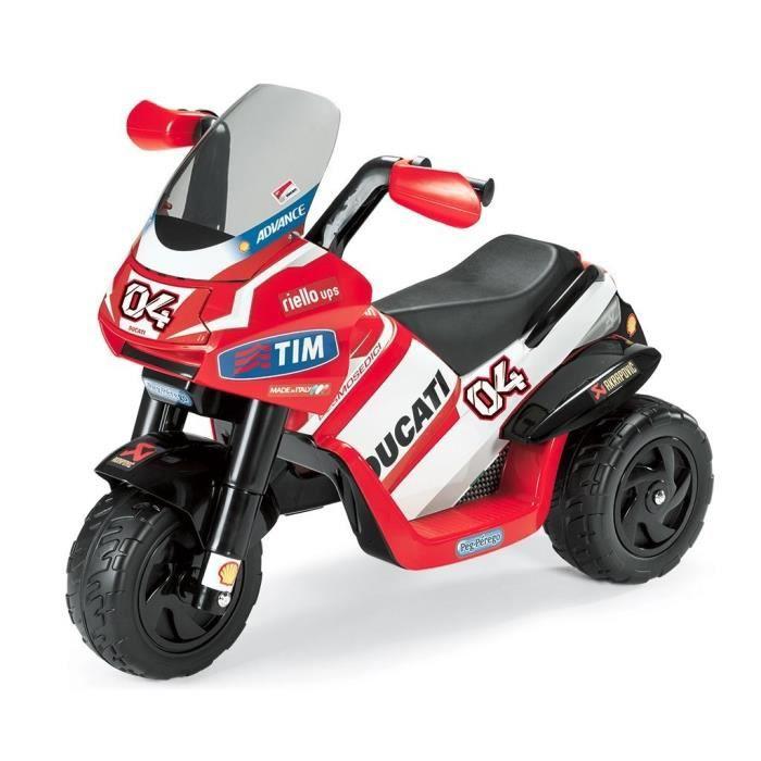 DESMOSEDICI Moto 3 Roues 6V pour Enfant