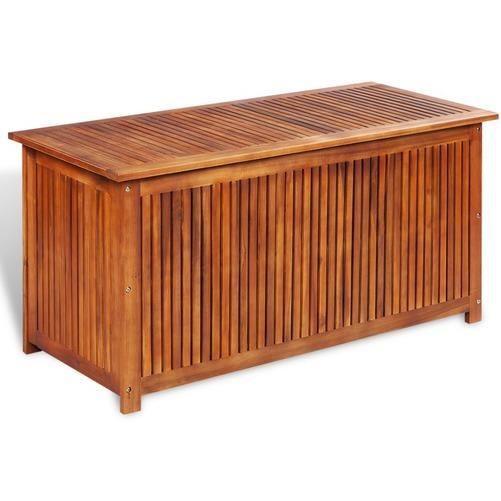 Coffre de rangement jardin bois achat vente pas cher - Coffre de jardin bois ...