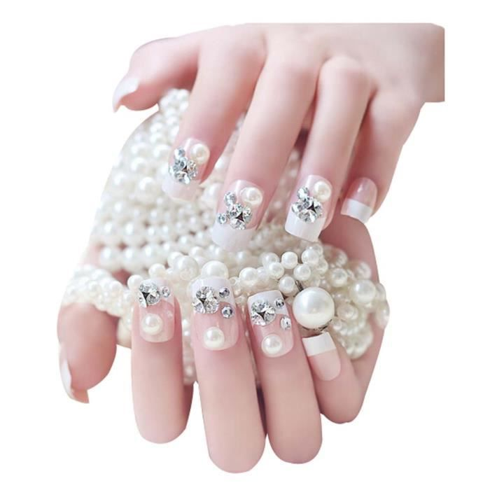 ongle pour mariage top nail art mariage u ides splendides pour votre jour j nail art mariage. Black Bedroom Furniture Sets. Home Design Ideas