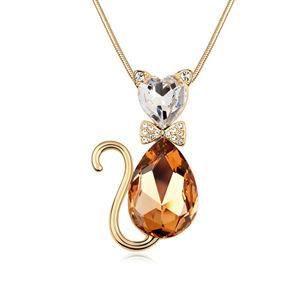 la chaîne 1pcs mon joli chat dorés boutique pull